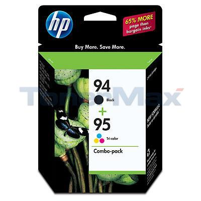 HP NO 94 95 INK BLACK/COLOR COMBOPACK